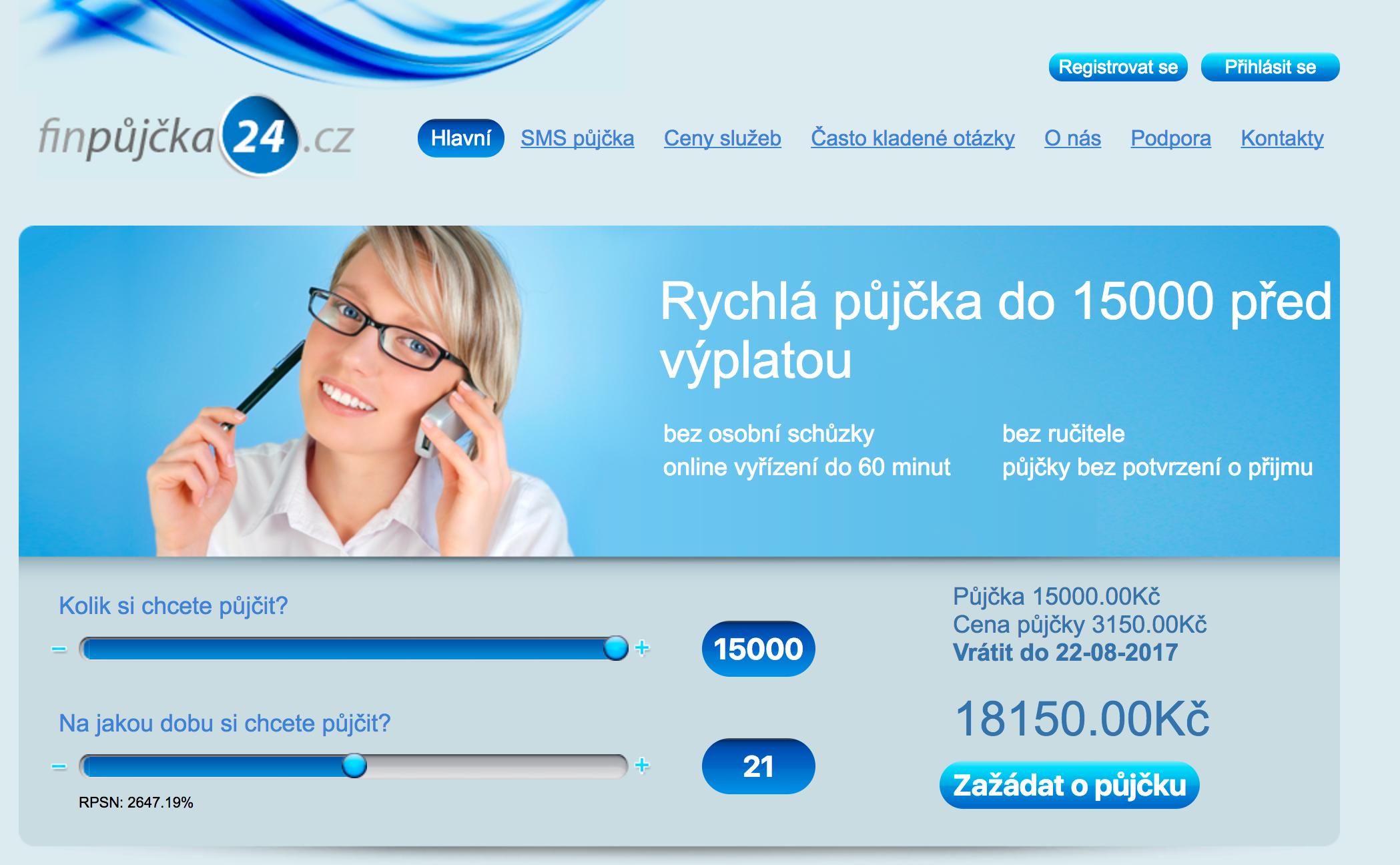 Nebankovní půjčka 1500 00