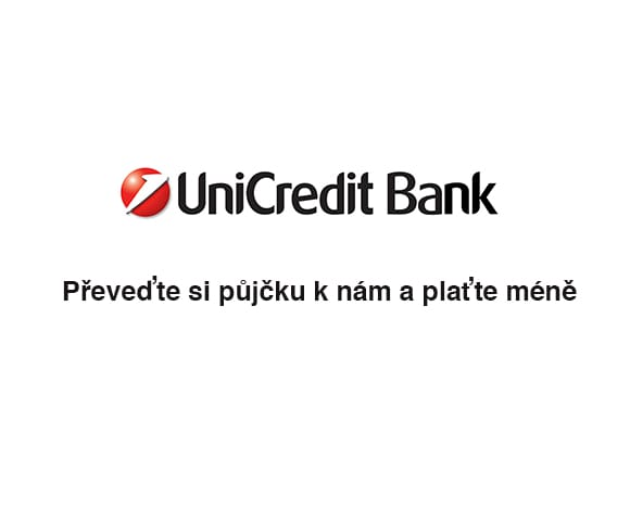 UniCredit Bank Presto půjčka