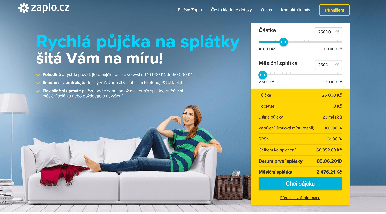 Malé půjčky bez registru online