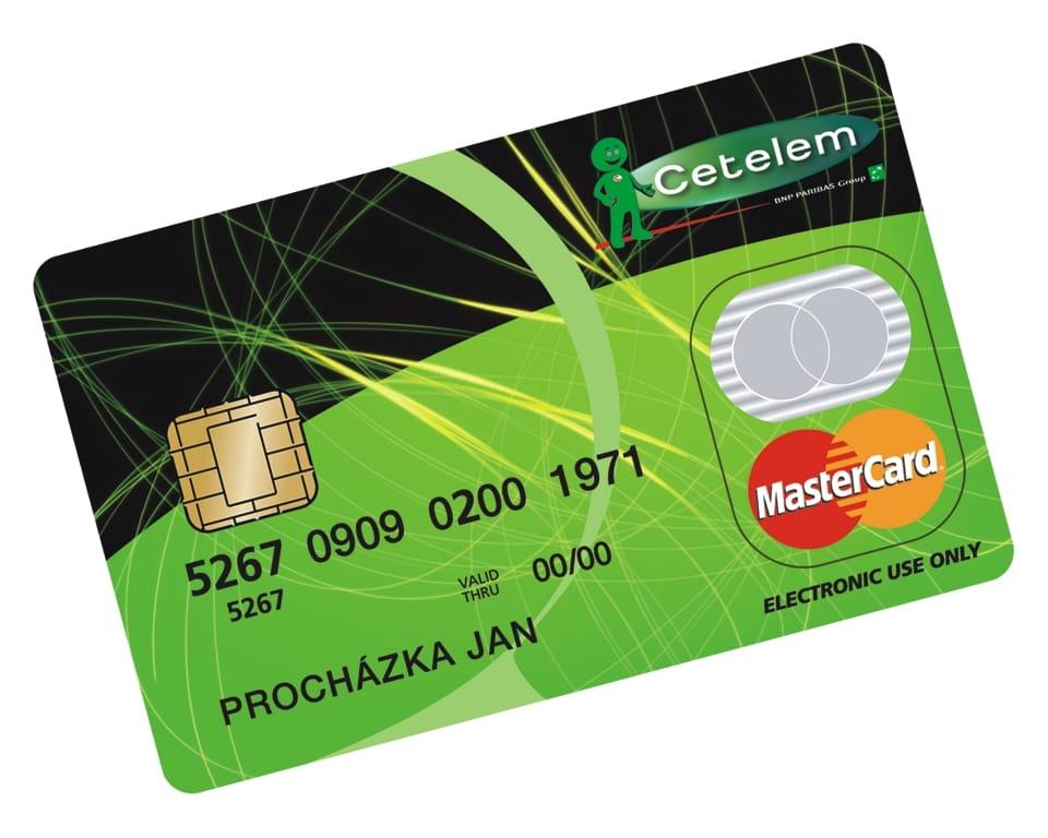 kreditní karta doprovod prsa