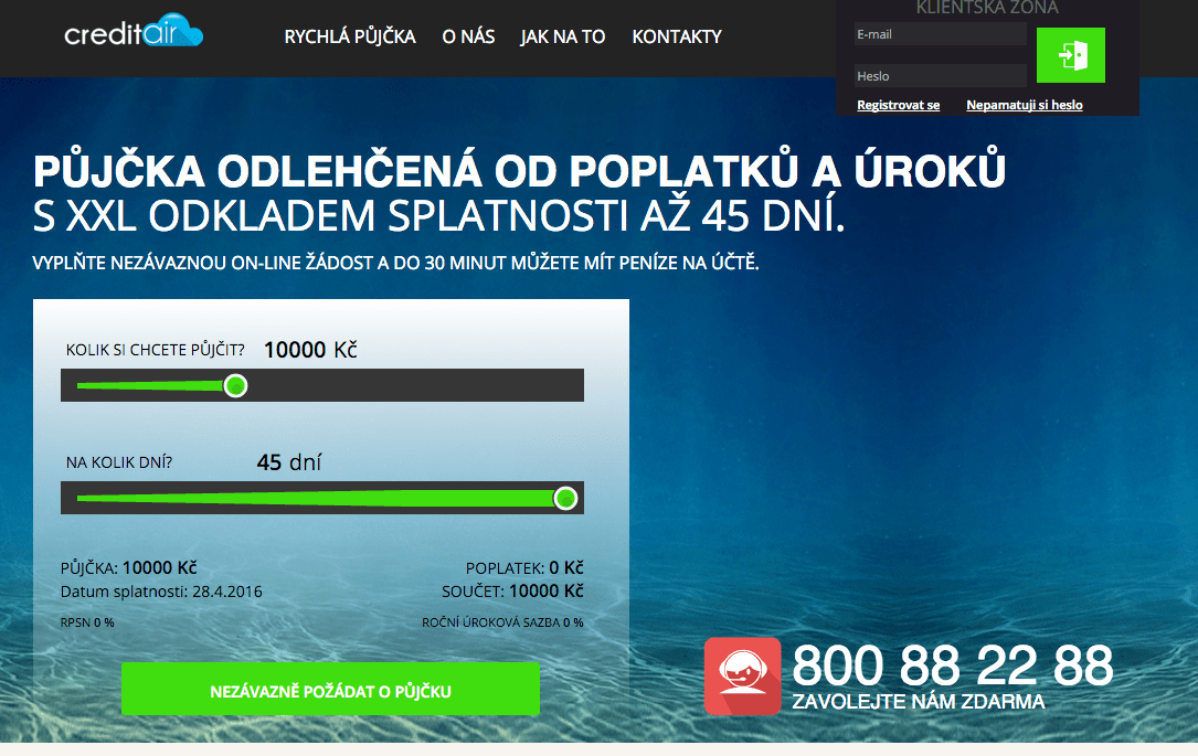 Online pujcka havířov cz