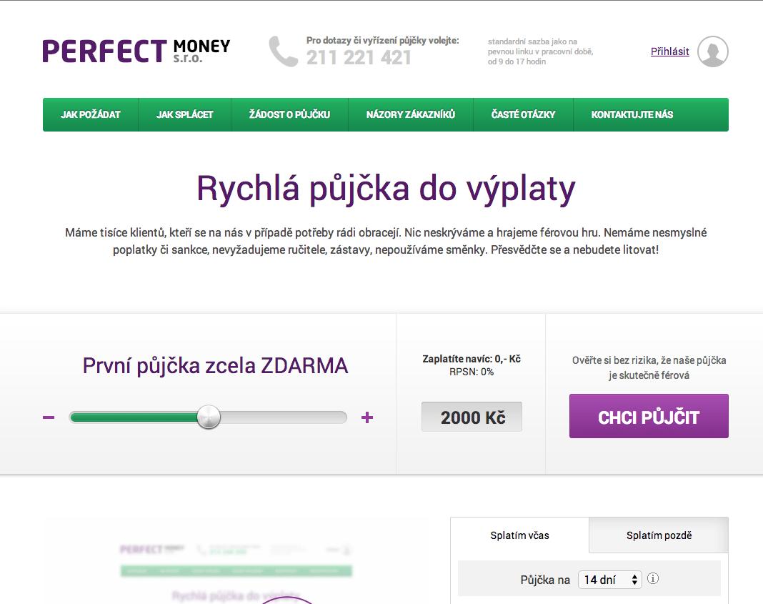 Online pujcky ihned humpolec cena